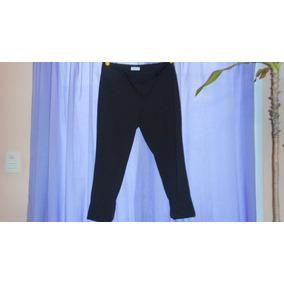 Pantalon De Vestir Calvin Klein Talle 10 Color Negro Rayas a0de6bf13479