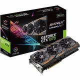 Tarjeta Video Asus Nvidia Rog Strix Gtx 1070 8gb Gaming 256b