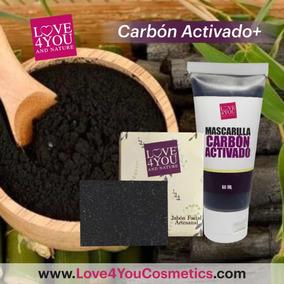 Carbon Activado Mascarilla + Jabon