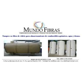 Tanques Industriales En Fibra De Vidrio