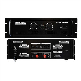 Amplificador Potência Mark Audio Mk2400 400w Loja Kadu Som