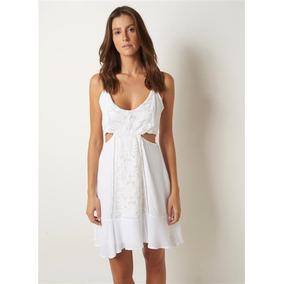Vestido sandra le lis blanc
