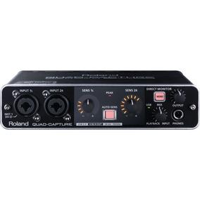Interface De Áudio 2 Canais Usb Ua55 Quad Capture Roland
