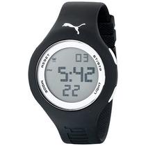 Pu Loop\ Reloj Digital Puma Hombres Con Banda Negra