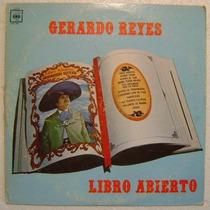 Gererado Reyes / Libro Abierto 1 Disco Lp Vinilo