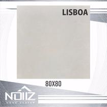Piso Porcelanato Delta Lisboa 80x80 Polido E Retificado