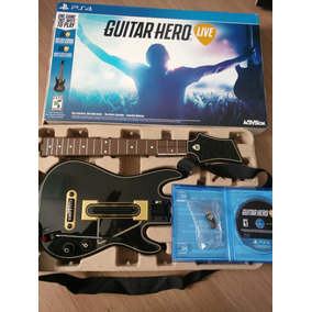 Guitar Hero Live Jogo + Guitarra + Sensor Ps4 Playstation 4