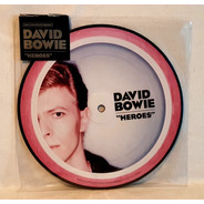 David Bowie - Heroes - Picture Disc Lp - Aniversário