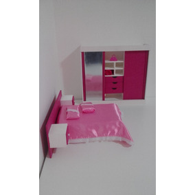 Exclusivo Mini Conjunto De Quarto Para Barbie (mini Sonho)