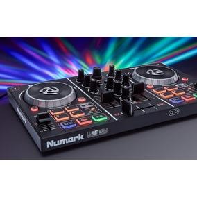 Controlador Dj Numark Party Mix Con Efecto Led Virtual Dj Le