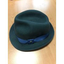Sombrero Perry Ellis Color Azul De Lana De Invierno