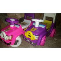 Carritos Montables Para Niños Cars Y Princesas Juguete Nav