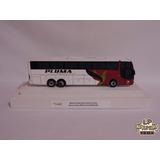Miniatura Ônibus Pluma Conforto E Turismo Busscar Jumbuss