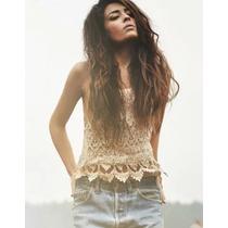 Espectacular Blusa Tejida En Crochet (ref 1097)