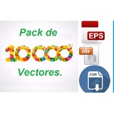 +10000 Pack Vectores Laser 3d Cnc Corel Dxf + Corel Draw X8
