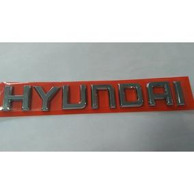 Emblema Letreiro Hyundai ( Tucson ) 2006/ Acima Cd10116