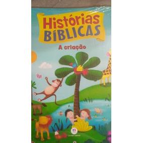 Livro Infantil Histórias Bíblicas A Criação C/8