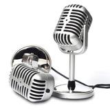 Microfono Para Pc Retro Video Conferencias Podcast Videos
