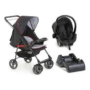 Carrinho Bebê Galzerano Milano Com Bebê Conforto E Base
