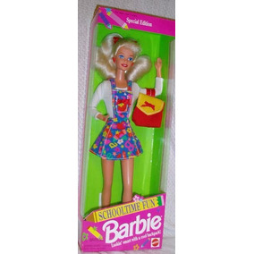 Barbie Antiga Schooltime Fun - Estudante 1995
