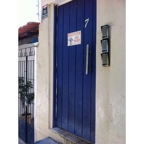 Portão Social Em Madeira Maciça E Puxadores Inox