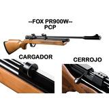 Rifle Fox Pcp Cerrojo Pr900 + Cargador 7 Tiros 800 Fps
