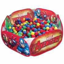 Piscina Bolinhas Avengers Zippytoys Com 100 Bolinhas Barato
