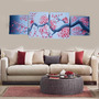 Cuadros Paisajes Modernos Aves Cerezo Sakura Decorativos