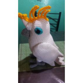Cacatua Amigurumi.en Crochet