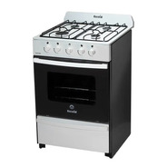 Cocina Escorial Master Multigas 56cm Blanca + Accesorios