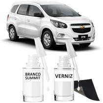 Tinta Tira Risco Automotivo Chevrolet Spin Branco Summit