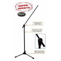 Pedestal Suporte Microfone Rmv Profissional +cachimbo Oferta