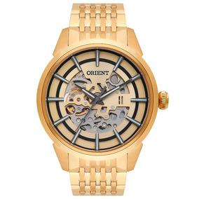 Relógio Mascullino Orient Automático Nh7gp001 C1kx Dourado