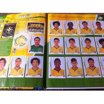 Álbum Capa Dura Da Copa Do Mundo De 2014 Completo