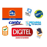 Recargas Teléfonicas Y Pines, Movistar, Digitel, Movilnet.