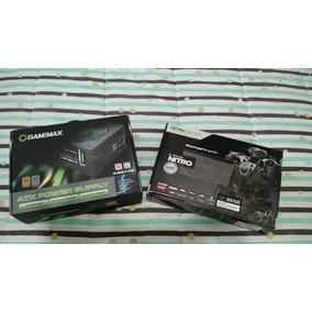 Saphire R9 390 Nitro 8gb + Fuente Gamemax 700w Reales