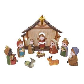 Nacimiento Navideño 12 Figuras Infantil Envío Gratis