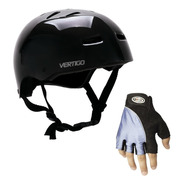 Casco Vertigo Free Style,bici,rollers + Guante. En Gravedadx
