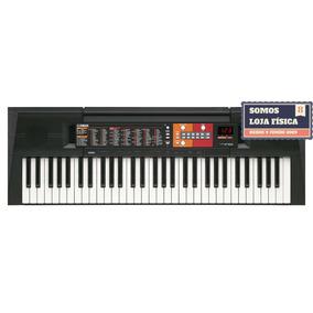 Teclado Arranjador Yamaha Psr-f51 61teclas+fonte+p.partitura