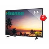 Television Pantalla Smart Tv Hisense 55 Led Full Hd 1080p