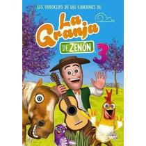 Dvd Las Canciones De La Granja De Zenon 3 Cd+dvd!