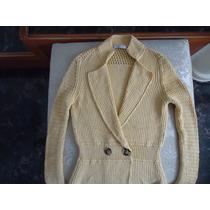 Precioso Sweather Tipo Saco Carolina Herrera 100% Original!!