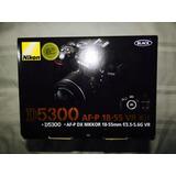 Cámara Nikon D5300 Digital Slr Con Lente 18-55mm+extras