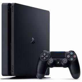 Playstation 4 Slim 500 Gb + 3 Juegos + 1 Joystick Ps4 Dmaker