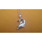 Collar-cadenita-delfin-acero Quirúrgico