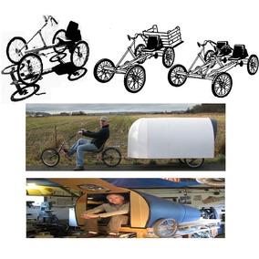 Planos Bicicletas Cuatriciclos + Trailer De Bicicleta