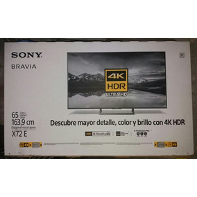 Tv Led Sony 65 Pulgadas 4k Uhd Hdr 65x725e Flamante 10/10