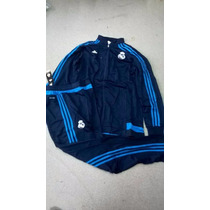 Conjunto Puma Campera Y Pantalon Real Madrid Original