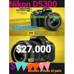 Cámara Nikon D5300 Reflex Kit 18-55 A Estrenar Garantia