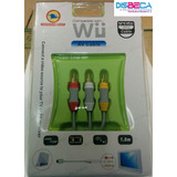 Cable Audio Video Para Nintendo Wii